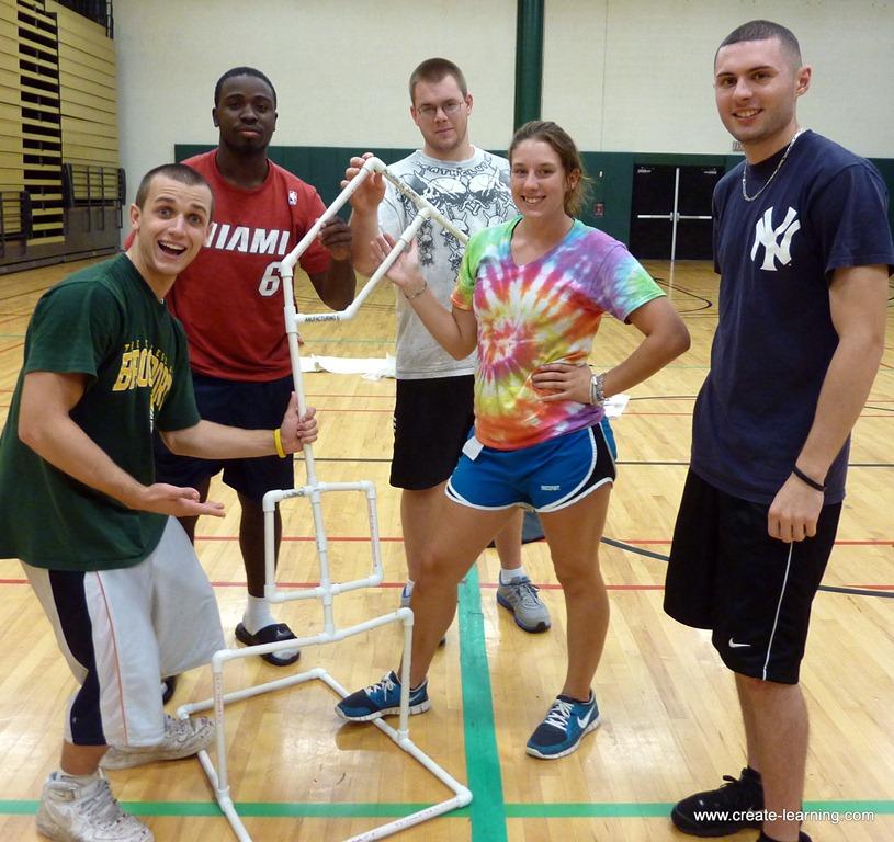 Brockport college students